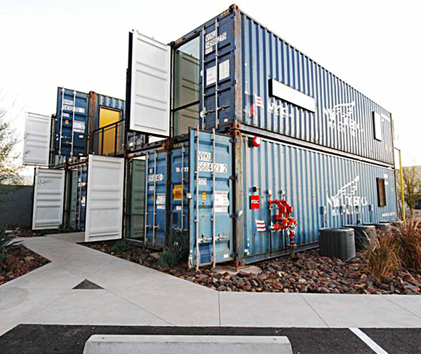Containers on Grand